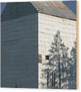 Grain Elevator In Troy Idaho Wood Print