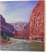 Grand Canyon I Wood Print
