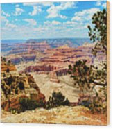 Grand Canyon Scenic Wood Print