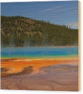Grand Prismatic Pool IIi Wood Print