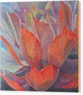 Grand Succulent Wood Print