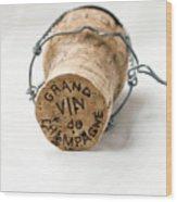 Grand Vin De Champagne Wood Print by Frank Tschakert