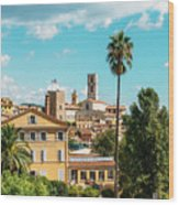 Grasse In Cote D'azur, France  Wood Print