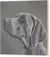 Gray Ghost Wood Print