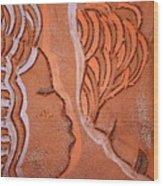 Greeting - Tile Wood Print