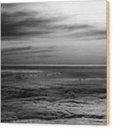 Grey Tones Wood Print
