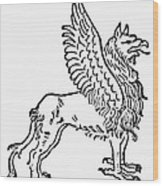Griffin Wood Print