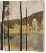 Grunewald Wood Print