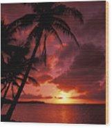 Guam, Tumon Bay Wood Print