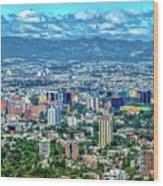 Guatemala City - Guatemala I Wood Print
