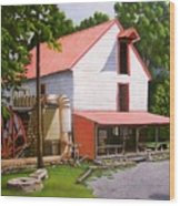 Guilford Mill Wood Print