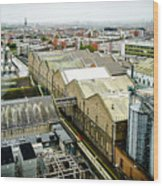 Guinness Brewery In Dublin Wood Print