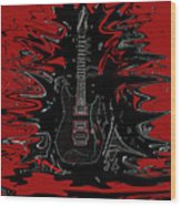 Guitar Of Wonder  Wood Print
