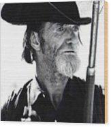 Gun Totting Tombstone Slim Helldorado Days Tombstone Arizona 1968 Wood Print