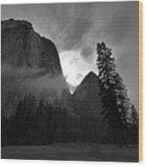 Gunsight Wood Print by Chris Brewington Photography LLC