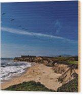 Half Moon Bay Golf Course - California Wood Print