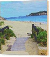 Hamelin Bay Wood Print