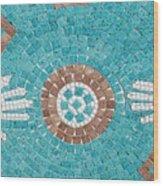 Hans Mosaic Wood Print