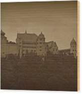 Harburg Castle - Digital Wood Print