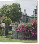Harkness Memorial Park Flowers Wood Print