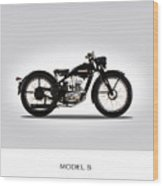 Harley Davidson Model S Wood Print