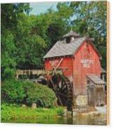 Harper's Mill Wood Print