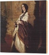 Harriet Howard Duchess Of Sutherland Franz Xavier Winterhalter Wood Print