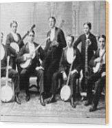 Harvard Banjo Club 1893 Wood Print