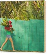 Hawaii Lifestyle Wood Print