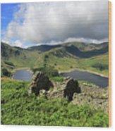 Haweswater Reservoir, Mardale Valley, Lake Dist Wood Print