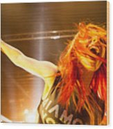 Hayley Williams Wood Print