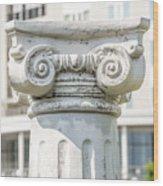Head Of Column Wood Print