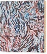 Heart Of Slate Wood Print