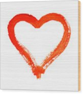 Heart - Symbol Of Love Wood Print