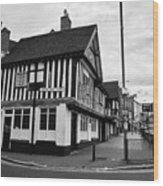 heath mill lane and the old crown pub Birmingham UK Wood Print