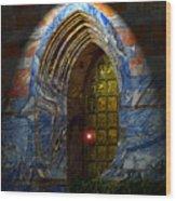 Heavens Gate Wood Print