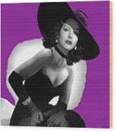 Hedy Lamarr C.1947-2013 Wood Print