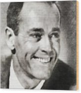 Henry Fonda, Hollywood Legend Wood Print