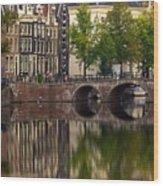 Herengracht Canal. Amsterdam. Netherlands. Europe Wood Print
