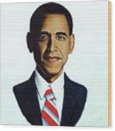 He's The Bomb Obama Wood Print