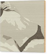 Hidden Erotic Desire Wood Print