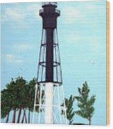 Hillsboro Inlet Lighthouse Wood Print