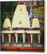 Hindu Temple Wood Print
