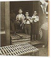 Hine: Child Labor, 1908 Wood Print