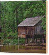 Historic Rikard's Mill - Alabama Wood Print