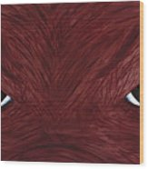 Hog Eyes Wood Print