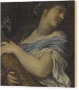 Holding A Fasces Wood Print