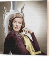Holiday, Katharine Hepburn, 1938 Wood Print by Everett