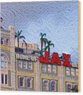 Home Of Jax Beer Wood Print