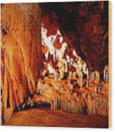 Hometown Series - Luray Caverns Wood Print